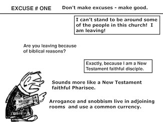 21 Poor Excuses for Leaving the Church Slide 3