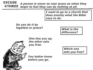 21 Poor Excuses for Leaving the Church Slide 5