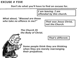 21 Poor Excuses for Leaving the Church Slide 7