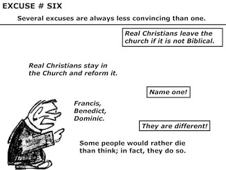 21 Poor Excuses for Leaving the Church Slide 8