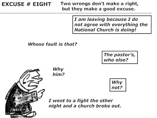 21 Poor Excuses for Leaving the Church Slide 10