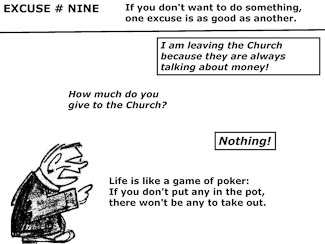 21 Poor Excuses for Leaving the Church Slide 11
