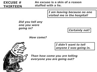 21 Poor Excuses for Leaving the Church Slide 15