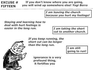 21 Poor Excuses for Leaving the Church Slide 17
