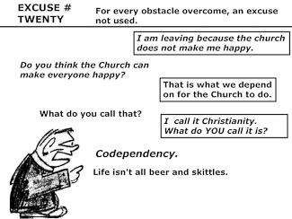 21 Poor Excuses for Leaving the Church Slide 22